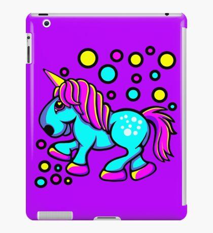 Unicorn Colour Blue and Pink  iPad Case/Skin