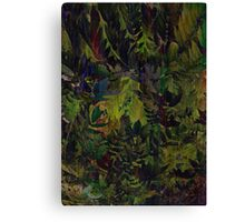 The Jungle Look Canvas Print