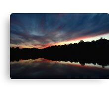 Untroubled Finales - Indian Springs Canvas Print