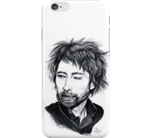 Thom Yorke [Radiohead] iPhone Case/Skin