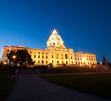 The Minnesota State Capital by NJorgensen