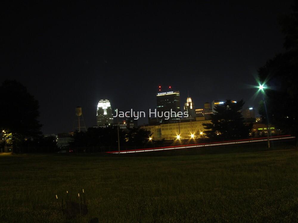 Winston-Salem Skyline by Jaclyn Hughes