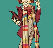 The Fourth Doctor [Who] by Indigo East