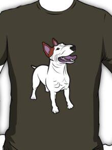 Happy Bull Terrier  T-Shirt