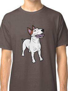 Happy Bull Terrier  Classic T-Shirt