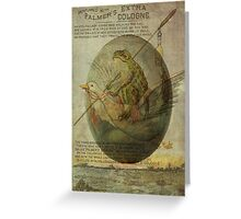 Goose and Frog's Easter Journey Greeting Card