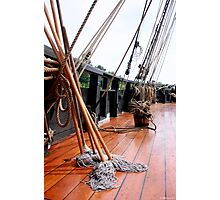 All Hands on Deck Photographic Print