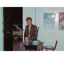 Philip 'Charlie' Rees door bitch Art Unit 1983 Photographic Print