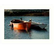 Fishing Boats ~ Peggy's Cove Nova Scotia Art Print
