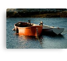 Fishing Boats ~ Peggy's Cove Nova Scotia Canvas Print