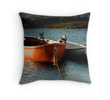 Fishing Boats ~ Peggy's Cove Nova Scotia Throw Pillow