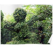 Cupid topiary Poster
