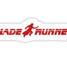 Runner Logo Sticker