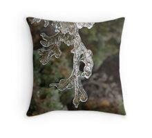Mother Nature's Christmas Decorations - Cypress Branches Throw Pillow