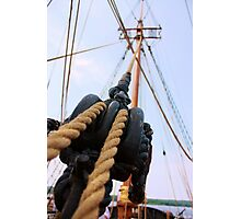 Rigs and Ropes Photographic Print