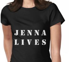 JENNA LIVES - In tribute to Jenna Hamilton Womens Fitted T-Shirt