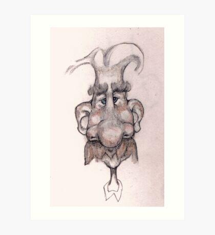 Bobblehead No 3 Art Print