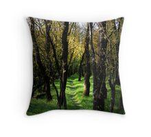 Through the Bundaleer Forest Throw Pillow