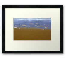 waters edge !! Framed Print