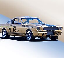 1966 Shelby Mustang GT350 Production GT by DaveKoontz