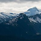 Juneau's Mountain Peaks by Tracy Riddell