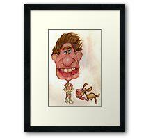 Bobblehead No 22 Framed Print