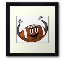 Freddie the Football Framed Print