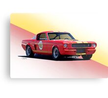 1966 Shelby Mustang GT350 Production GT Metal Print