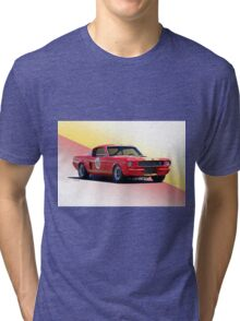 1966 Shelby Mustang GT350 Production GT Tri-blend T-Shirt