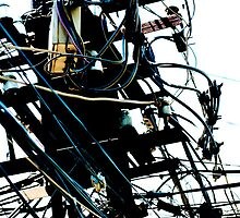 Vietnam Telecom serving spaghetti cables by MadsMonsen