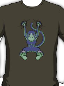 Monkey Trouble Purple and Green T-Shirt
