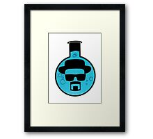 Breacking Bad- Heisenberg Framed Print