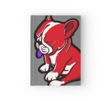 Bull Terrier Red And White  Hardcover Journal