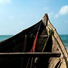 Bow view of the ocean at Ho Tram beach, Vietnam by MadsMonsen