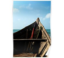 Bow view of the ocean at Ho Tram beach, Vietnam Poster