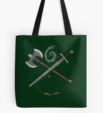 Dungeons & Dragons Weapons Tote Bag