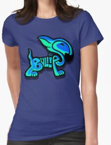 Bullies Letter Character Turquoise and Blue T-Shirt