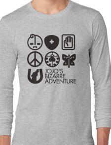Jojo's Bizarre Adventure Symbols Long Sleeve T-Shirt