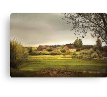 In The Countryside Canvas Print
