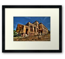 The Haunted Factory Framed Print