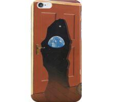 Beyond Magritte's Door iPhone Case/Skin