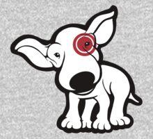 EBT Target Eye Patch Puppy One Piece - Long Sleeve