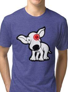 EBT Target Eye Patch Puppy Tri-blend T-Shirt