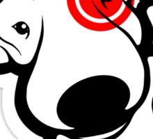 EBT Target Eye Patch Puppy Sticker