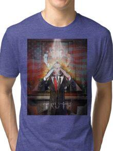 Remastered Portrait of Stephen Colbert Tri-blend T-Shirt
