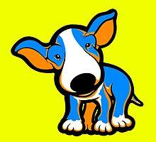 IrnBru English Bull Terrier Puppy  by Sookiesooker