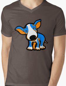 IrnBru English Bull Terrier Puppy  Mens V-Neck T-Shirt
