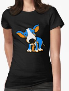 IrnBru English Bull Terrier Puppy  Womens Fitted T-Shirt
