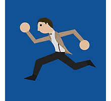 Run, Eleventh Doctor, Run! Photographic Print