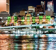 Brisbane Fairy Lights by A.David Holloway